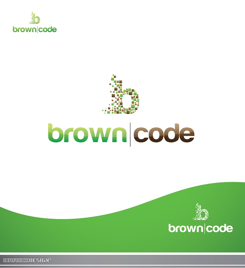 Logo Design by kowreck - Entry No. 195 in the Logo Design Contest New Logo Design for Brown Code.