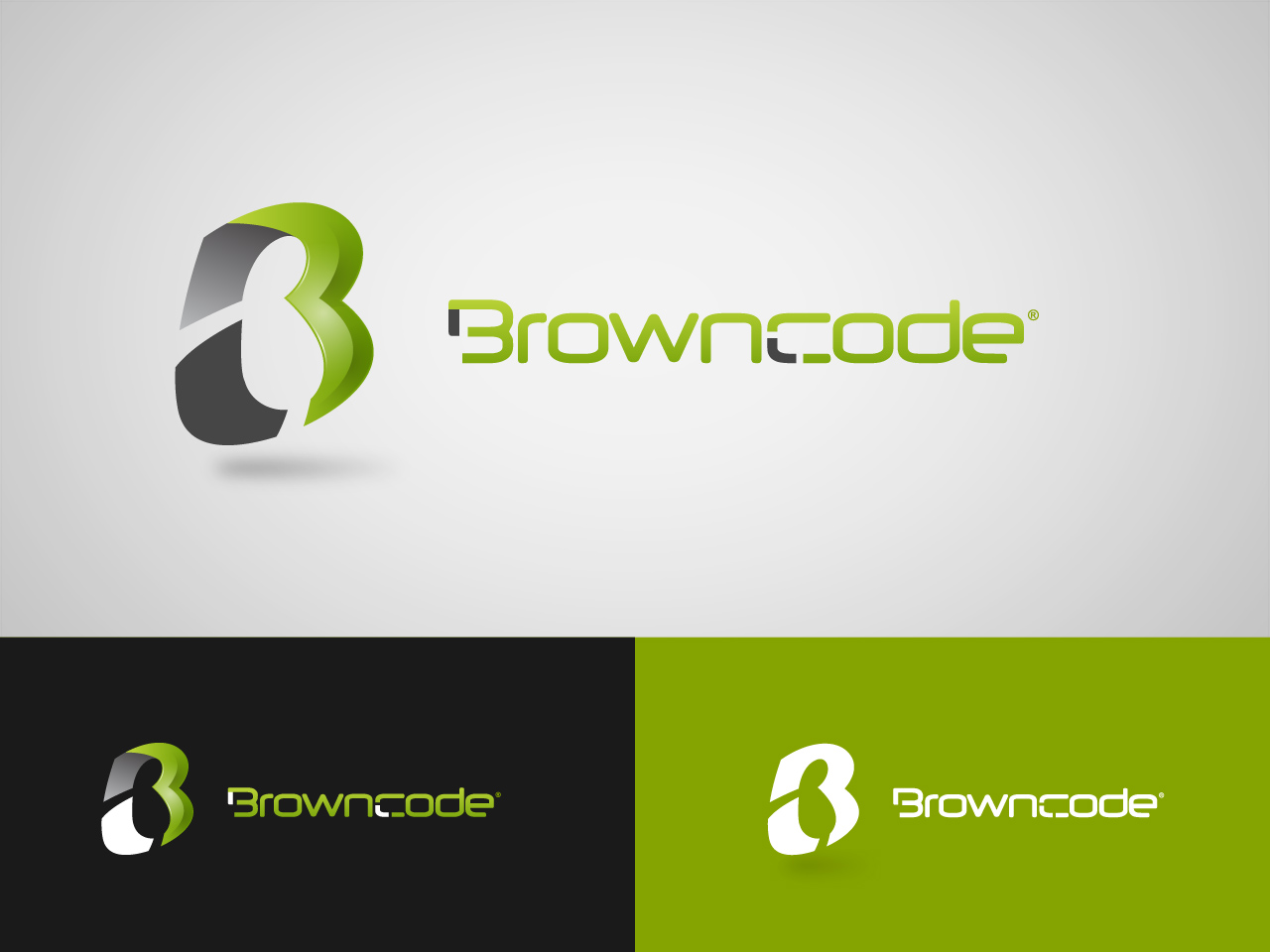 Logo Design by jpbituin - Entry No. 198 in the Logo Design Contest New Logo Design for Brown Code.