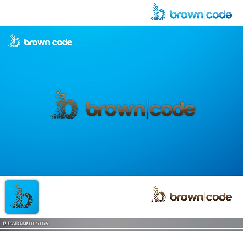 Logo Design by kowreck - Entry No. 199 in the Logo Design Contest New Logo Design for Brown Code.