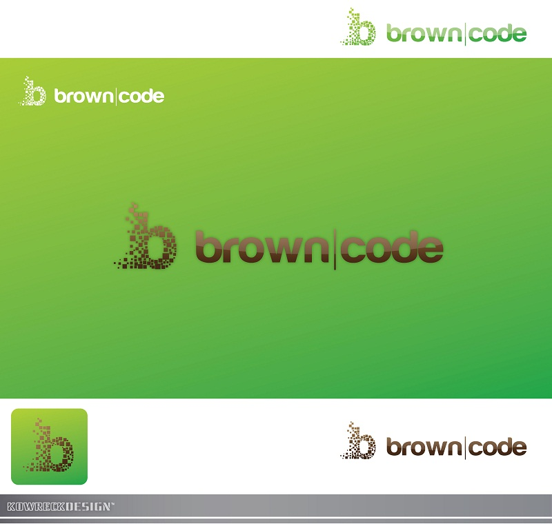 Logo Design by kowreck - Entry No. 200 in the Logo Design Contest New Logo Design for Brown Code.