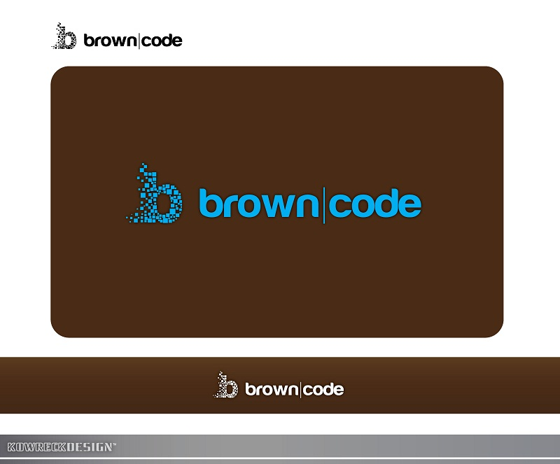 Logo Design by kowreck - Entry No. 201 in the Logo Design Contest New Logo Design for Brown Code.