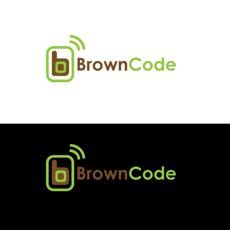 Logo Design by Private User - Entry No. 208 in the Logo Design Contest New Logo Design for Brown Code.