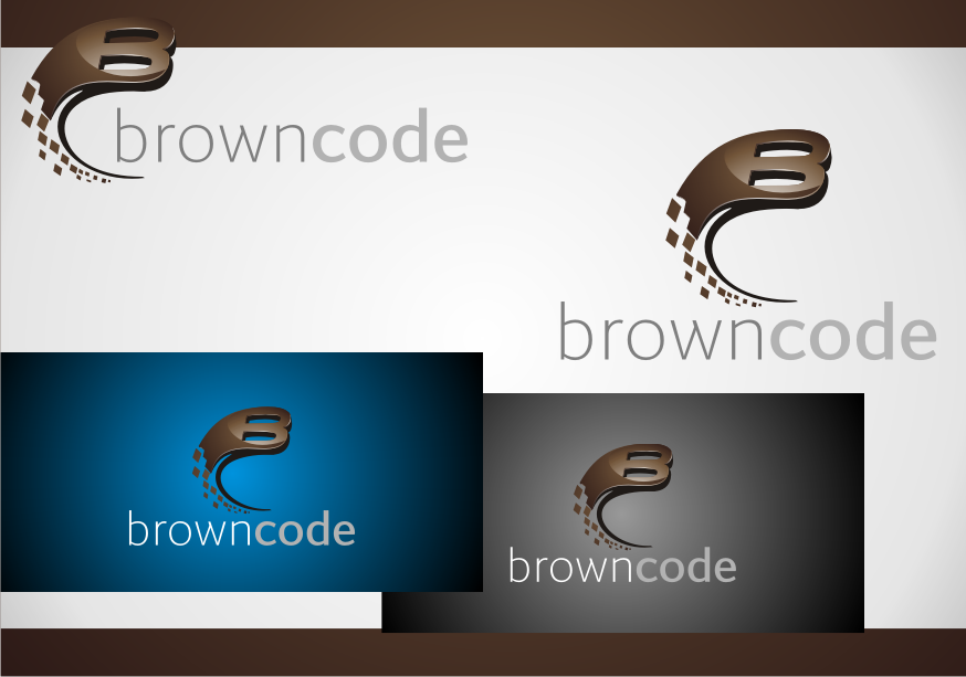Logo Design by graphicleaf - Entry No. 213 in the Logo Design Contest New Logo Design for Brown Code.