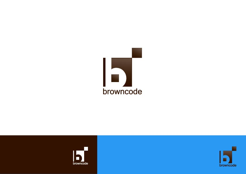 Logo Design by Osi Indra - Entry No. 216 in the Logo Design Contest New Logo Design for Brown Code.