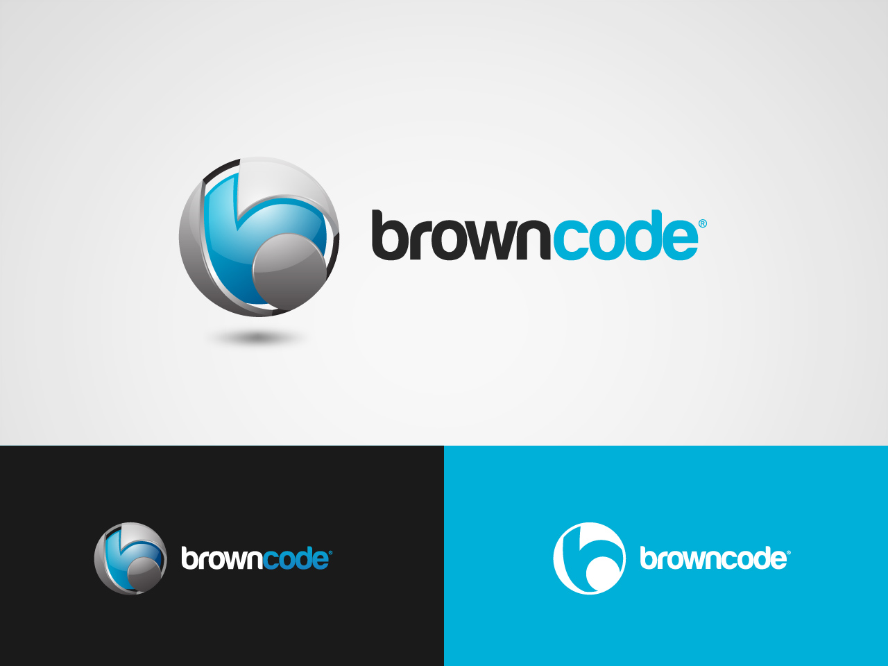Logo Design by jpbituin - Entry No. 218 in the Logo Design Contest New Logo Design for Brown Code.