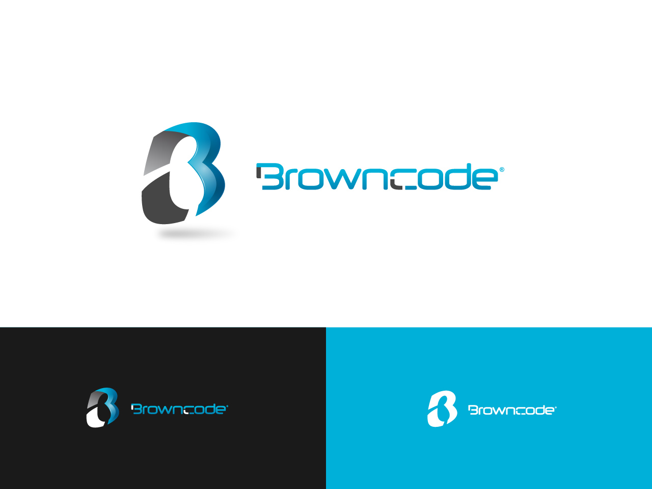 Logo Design by jpbituin - Entry No. 219 in the Logo Design Contest New Logo Design for Brown Code.