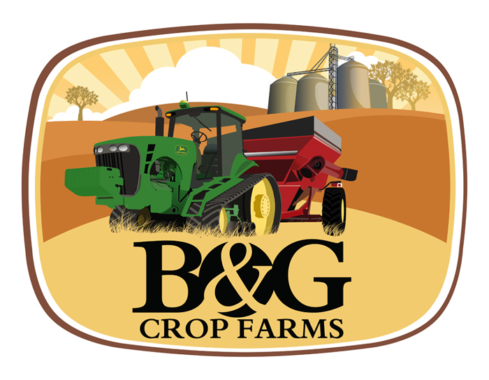 Logo Design by Private User - Entry No. 57 in the Logo Design Contest Artistic Logo Design for B & G Crop Farms.