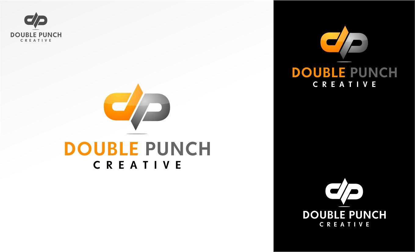 Logo Design by haidu - Entry No. 8 in the Logo Design Contest Unique Logo Design Wanted for Double Punch Creative.