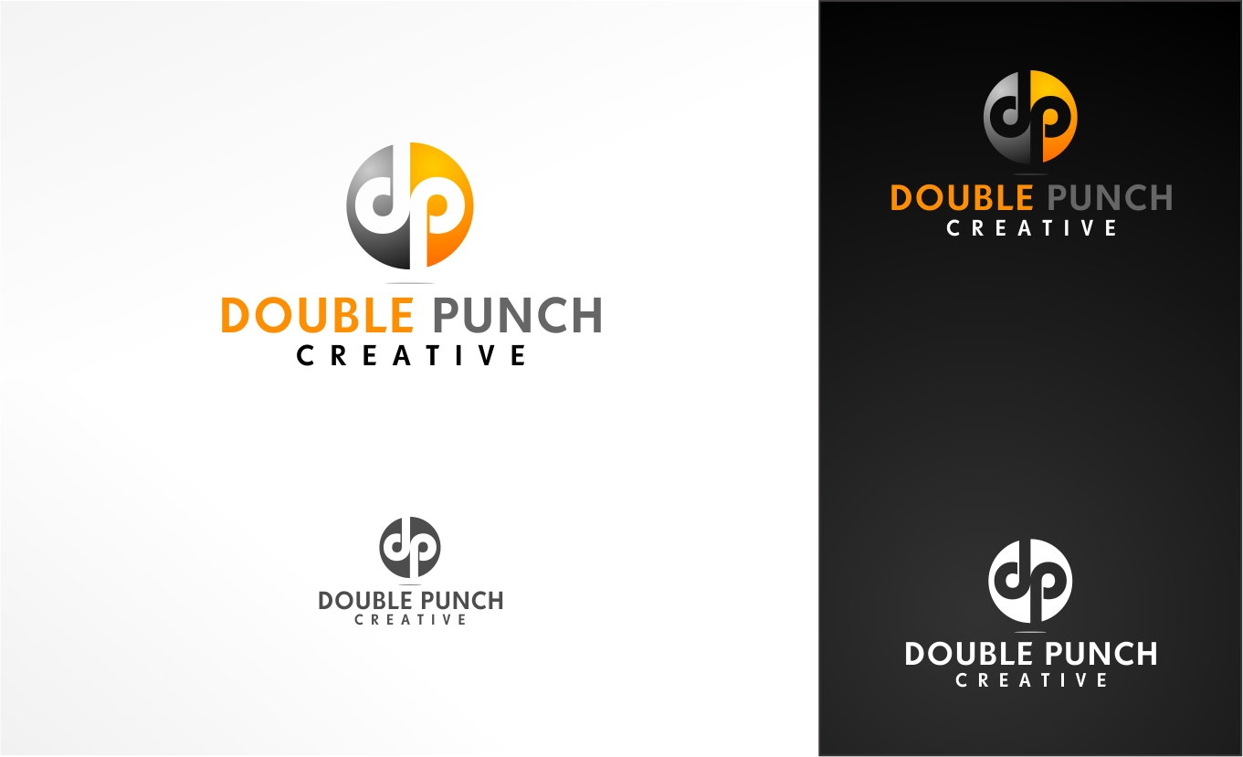 Logo Design by haidu - Entry No. 9 in the Logo Design Contest Unique Logo Design Wanted for Double Punch Creative.