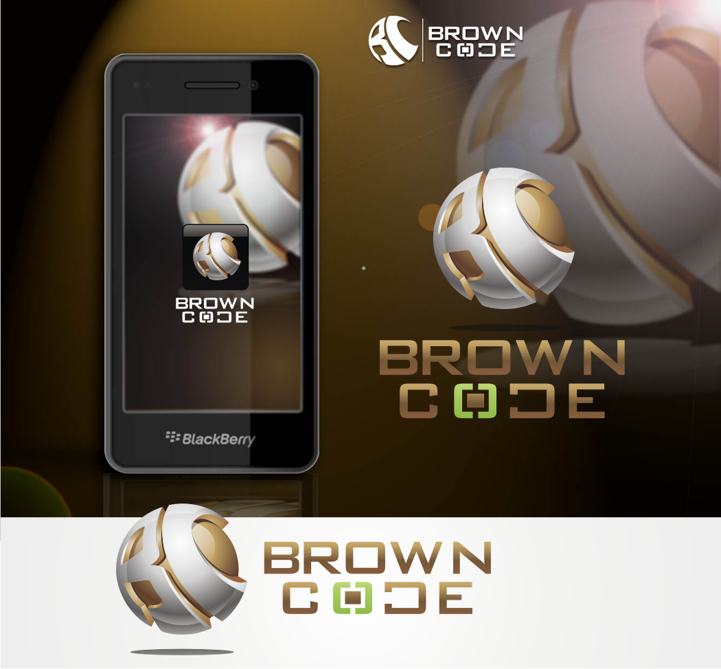 Logo Design by Pay_mo - Entry No. 220 in the Logo Design Contest New Logo Design for Brown Code.