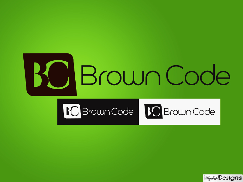Logo Design by Mythos Designs - Entry No. 221 in the Logo Design Contest New Logo Design for Brown Code.