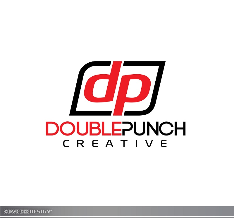 Logo Design by kowreck - Entry No. 11 in the Logo Design Contest Unique Logo Design Wanted for Double Punch Creative.