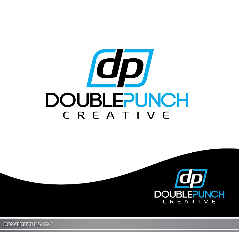 Logo Design by kowreck - Entry No. 12 in the Logo Design Contest Unique Logo Design Wanted for Double Punch Creative.