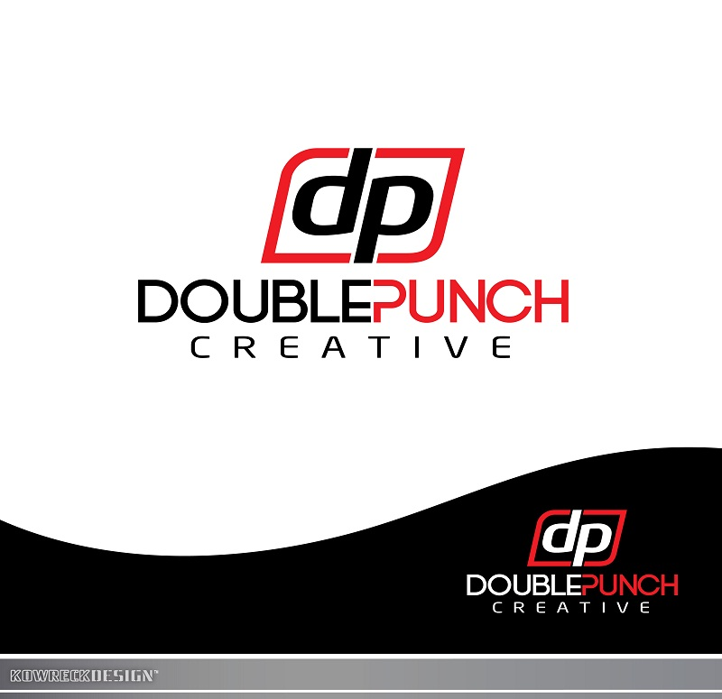 Logo Design by kowreck - Entry No. 14 in the Logo Design Contest Unique Logo Design Wanted for Double Punch Creative.