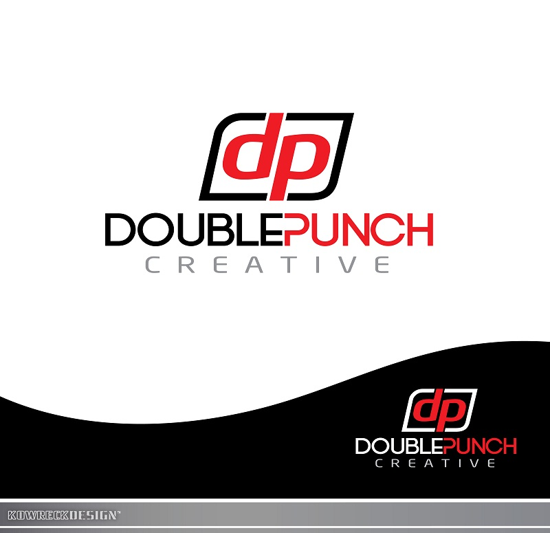 Logo Design by kowreck - Entry No. 15 in the Logo Design Contest Unique Logo Design Wanted for Double Punch Creative.