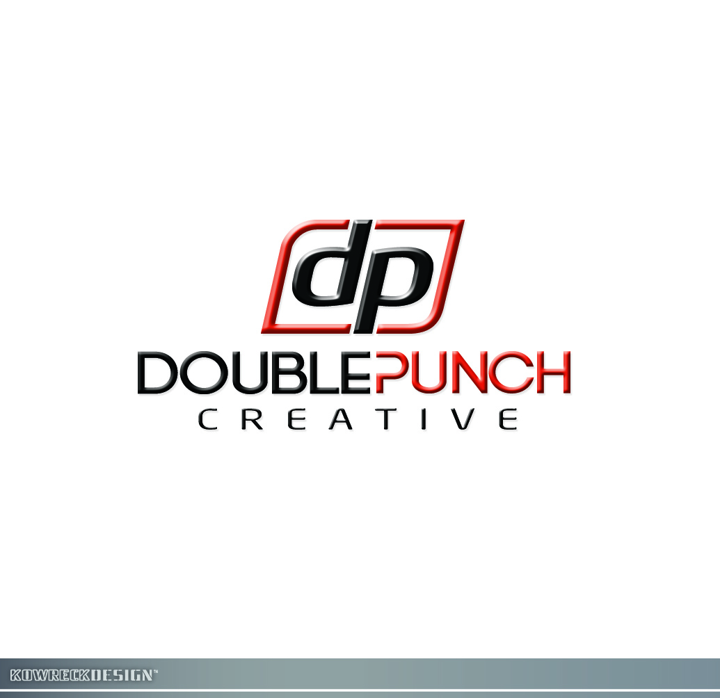 Logo Design by kowreck - Entry No. 16 in the Logo Design Contest Unique Logo Design Wanted for Double Punch Creative.