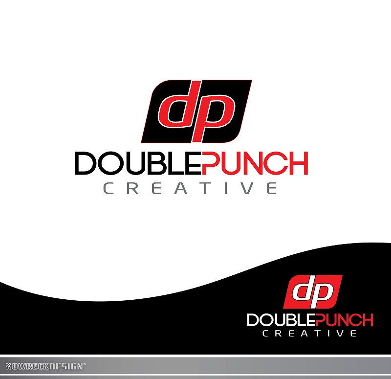 Logo Design by kowreck - Entry No. 17 in the Logo Design Contest Unique Logo Design Wanted for Double Punch Creative.