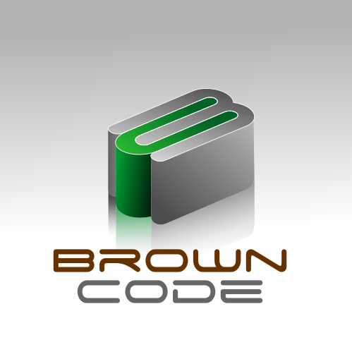 Logo Design by Rudy - Entry No. 224 in the Logo Design Contest New Logo Design for Brown Code.