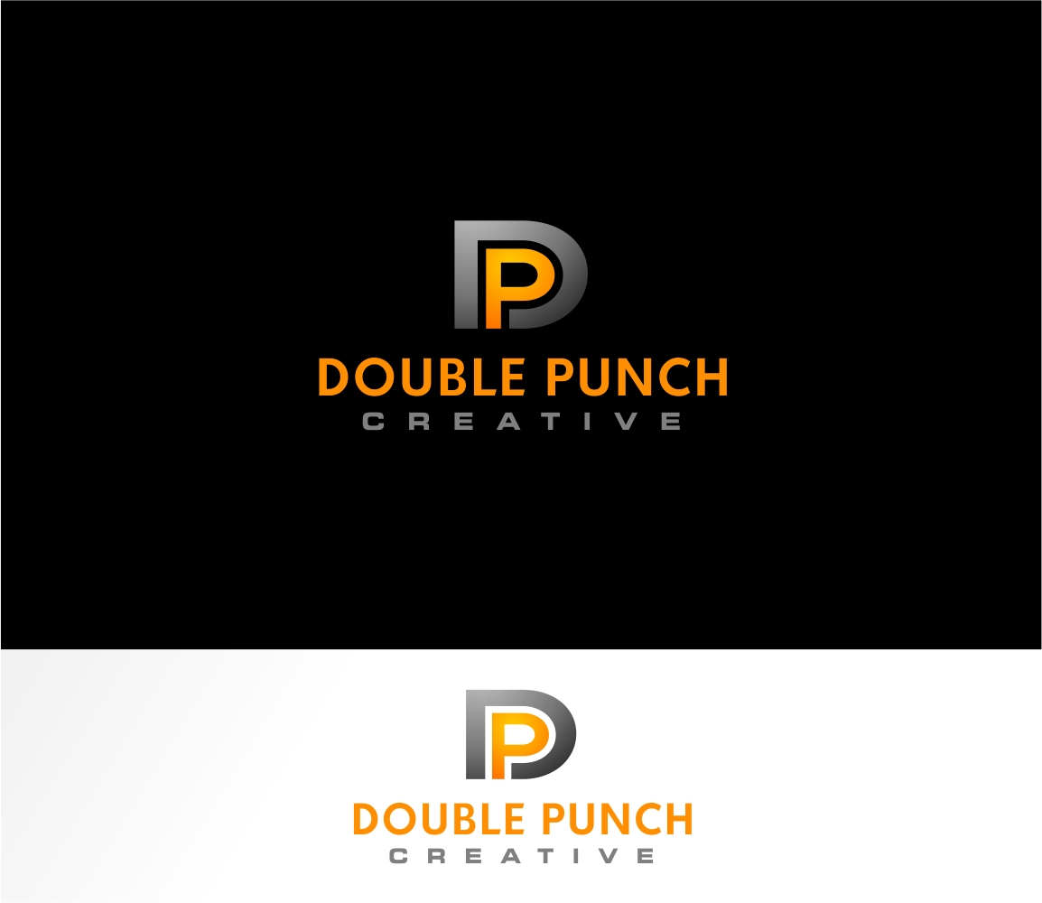 Logo Design by haidu - Entry No. 19 in the Logo Design Contest Unique Logo Design Wanted for Double Punch Creative.