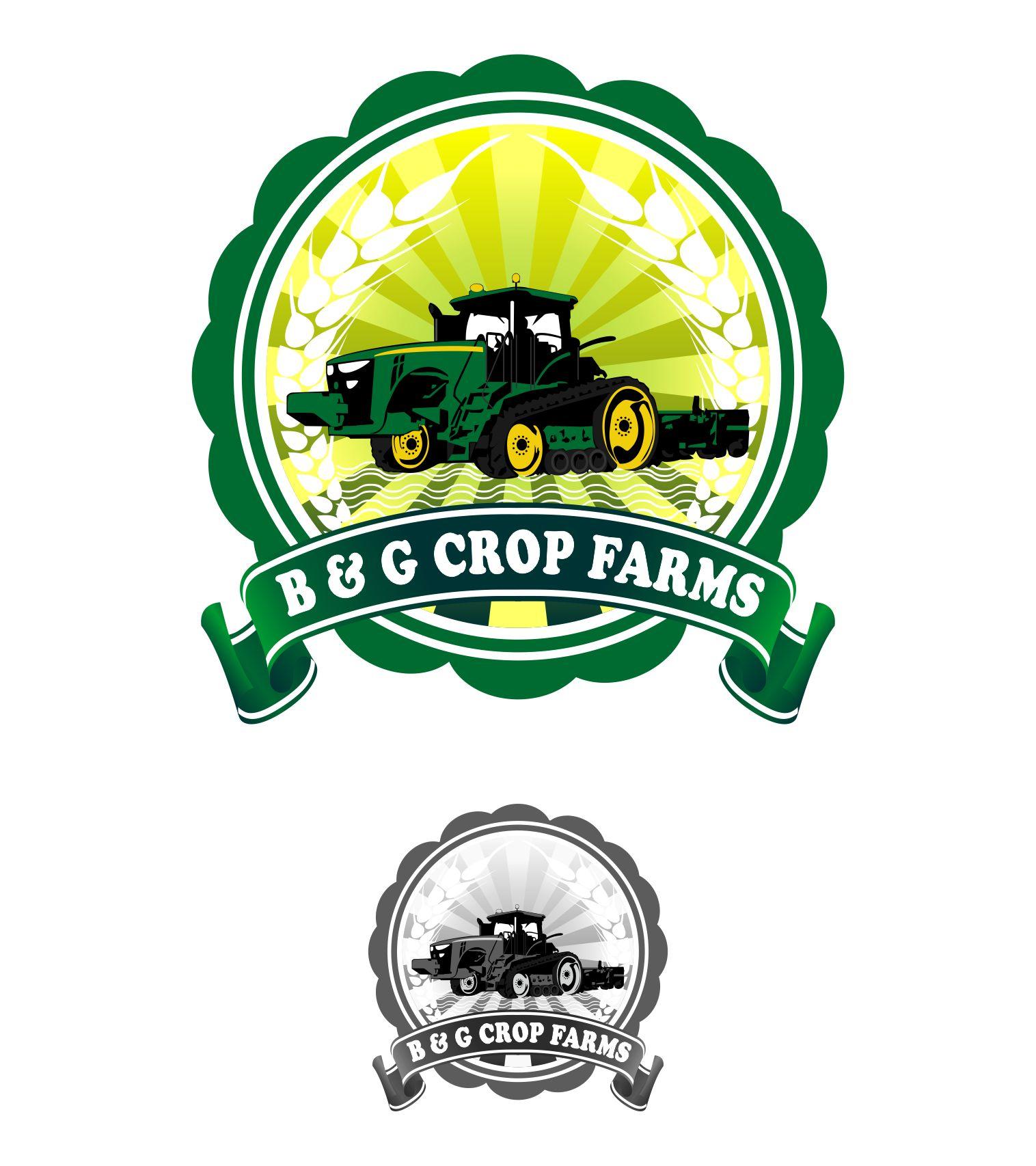 Logo Design by joca - Entry No. 58 in the Logo Design Contest Artistic Logo Design for B & G Crop Farms.