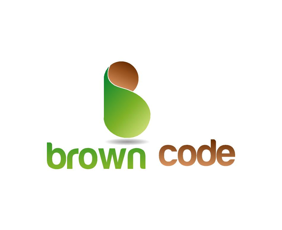 Logo Design by ZAYYADI AHMAD - Entry No. 227 in the Logo Design Contest New Logo Design for Brown Code.