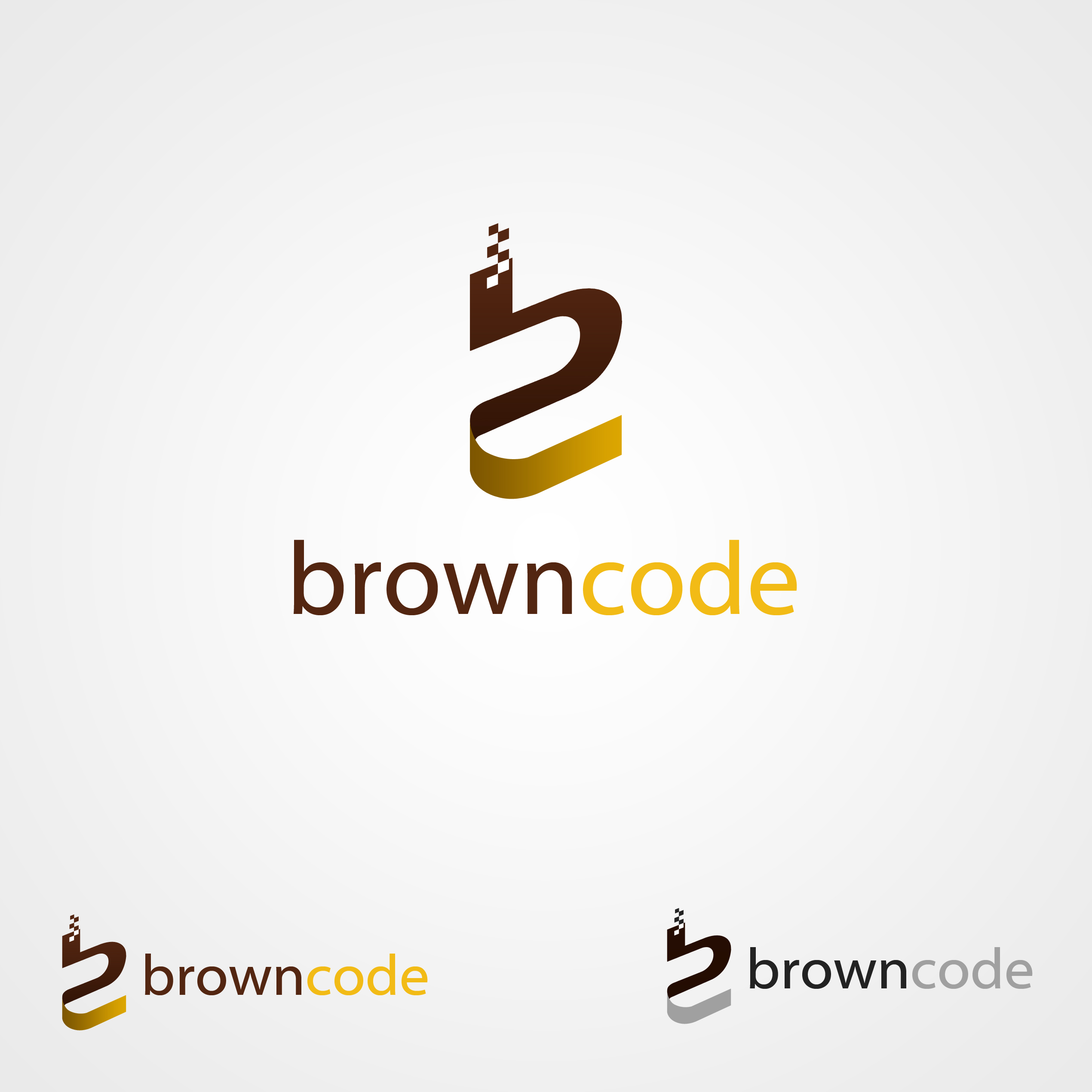 Logo Design by omARTist - Entry No. 228 in the Logo Design Contest New Logo Design for Brown Code.