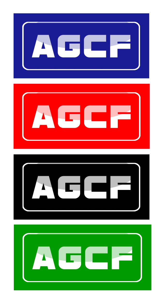 Logo Design by Private User - Entry No. 151 in the Logo Design Contest Imaginative Logo Design for AGCF.