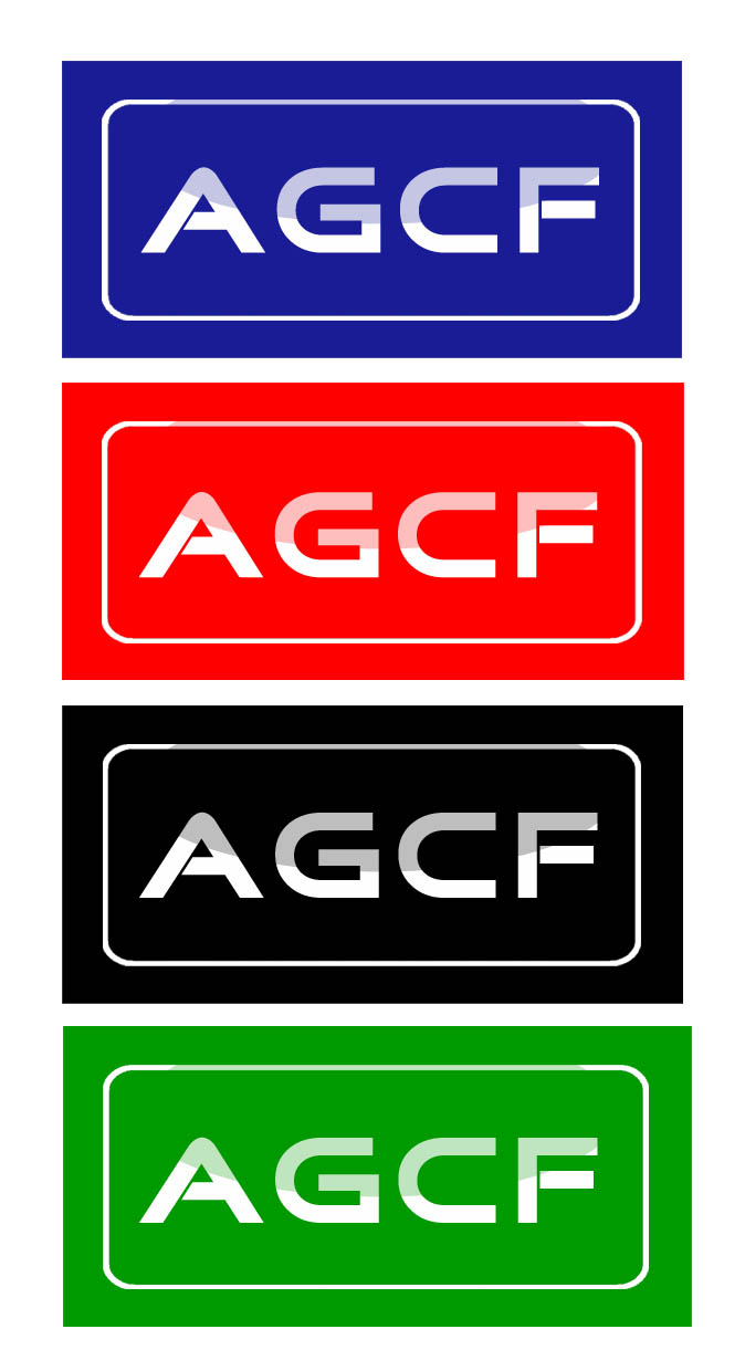 Logo Design by Private User - Entry No. 152 in the Logo Design Contest Imaginative Logo Design for AGCF.
