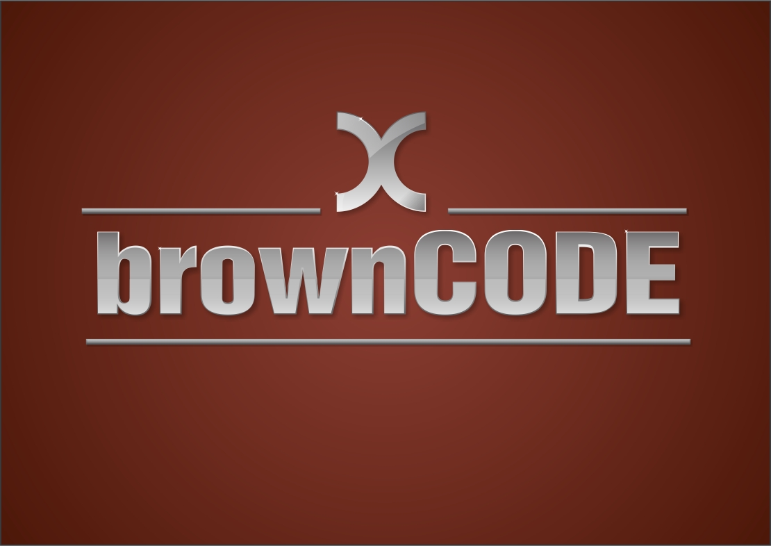 Logo Design by Sandeep Parab - Entry No. 233 in the Logo Design Contest New Logo Design for Brown Code.