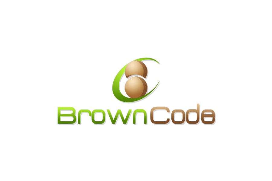 Logo Design by Private User - Entry No. 238 in the Logo Design Contest New Logo Design for Brown Code.