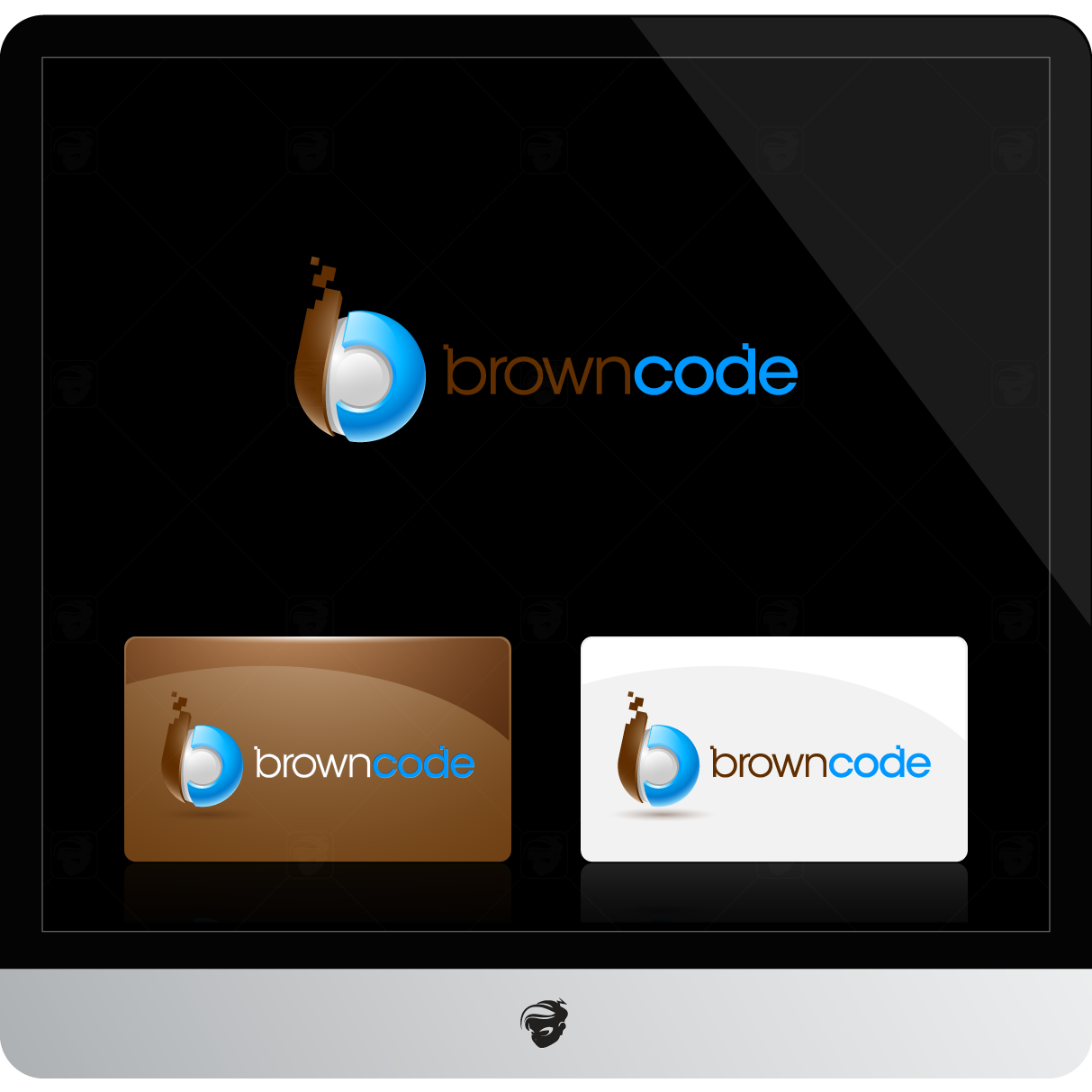 Logo Design by zesthar - Entry No. 240 in the Logo Design Contest New Logo Design for Brown Code.