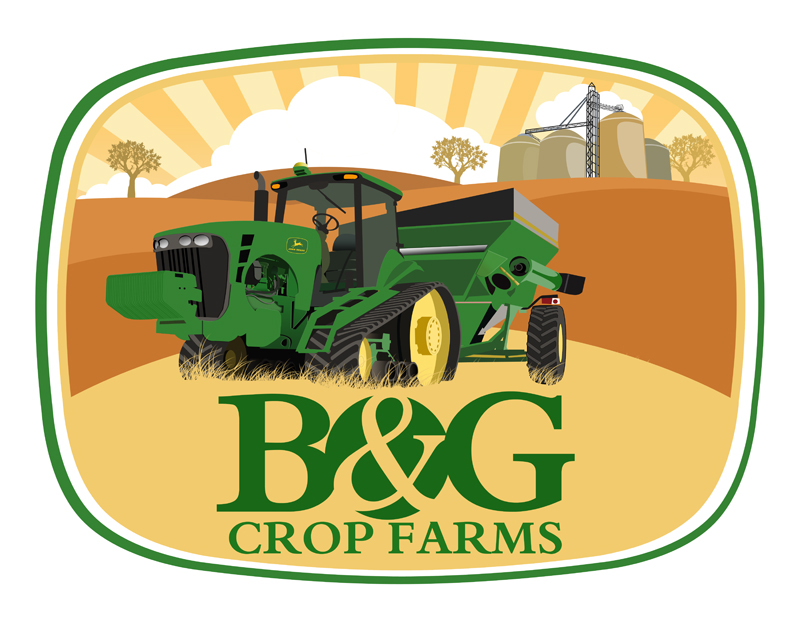 Logo Design by Private User - Entry No. 62 in the Logo Design Contest Artistic Logo Design for B & G Crop Farms.