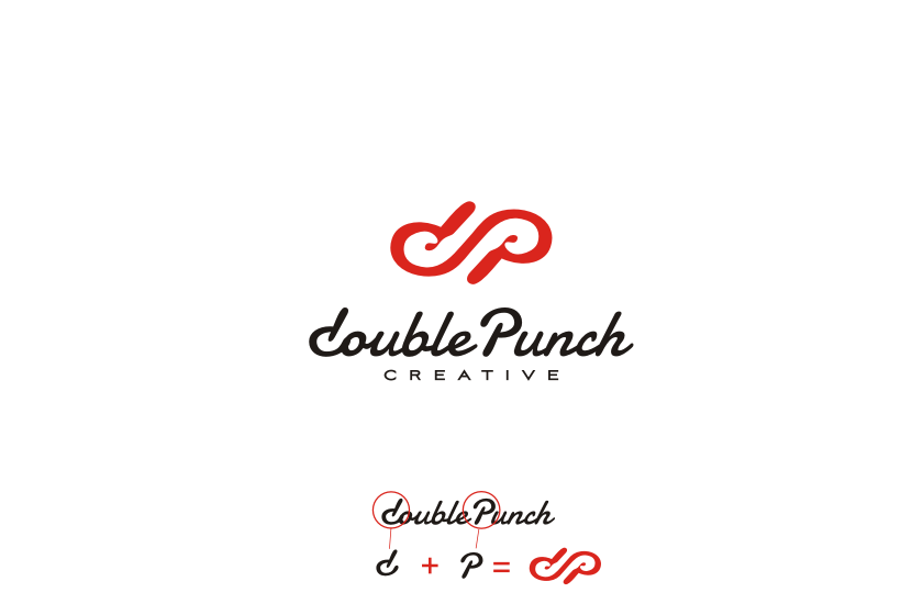 Logo Design by graphicleaf - Entry No. 35 in the Logo Design Contest Unique Logo Design Wanted for Double Punch Creative.