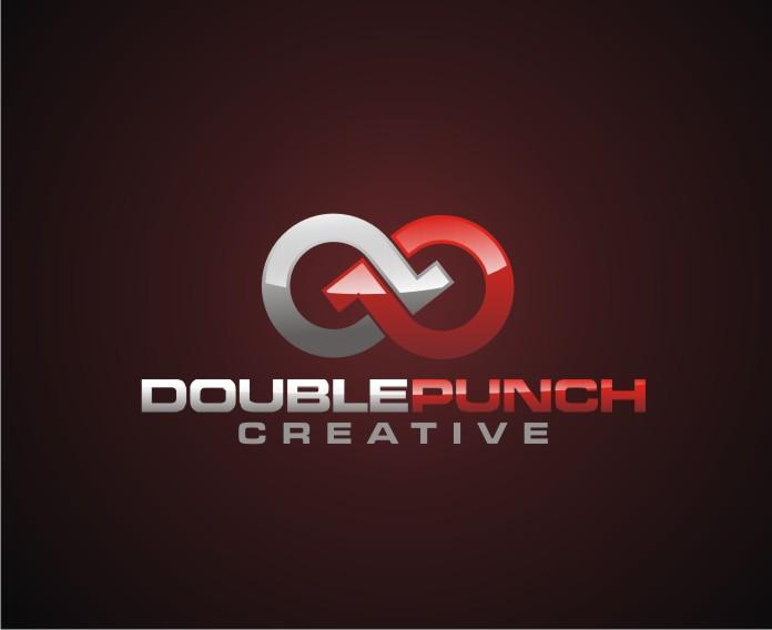 Logo Design by Reivan Ferdinan - Entry No. 37 in the Logo Design Contest Unique Logo Design Wanted for Double Punch Creative.