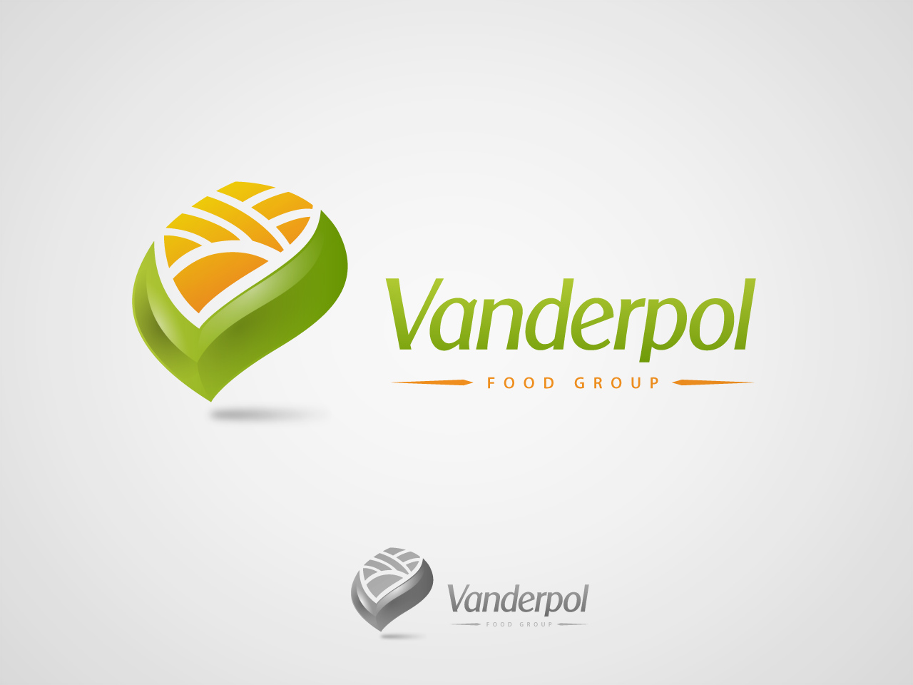 Logo Design by jpbituin - Entry No. 2 in the Logo Design Contest Creative Logo Design for Vanderpol Food Group.