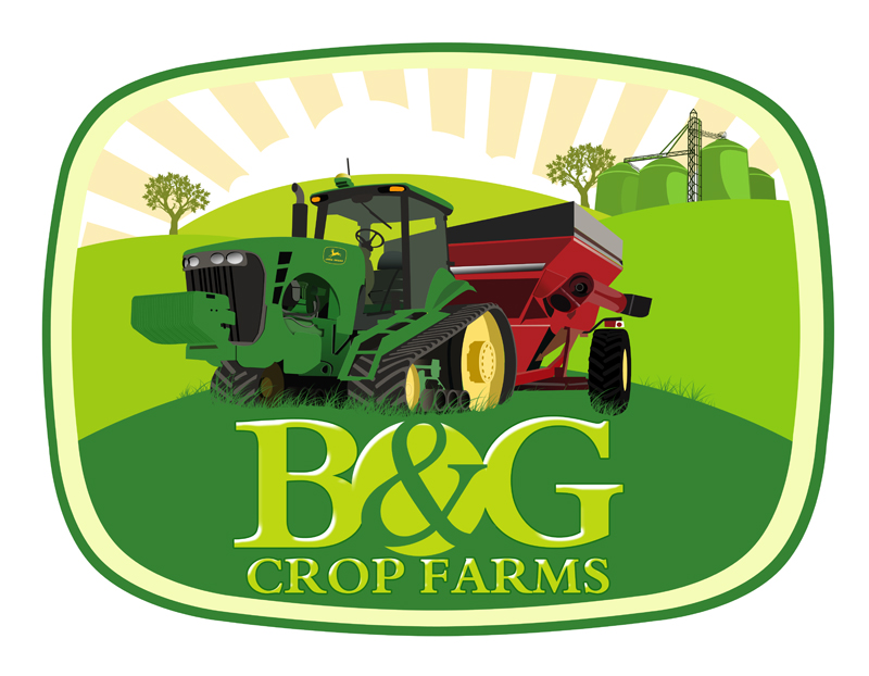 Logo Design by Private User - Entry No. 67 in the Logo Design Contest Artistic Logo Design for B & G Crop Farms.