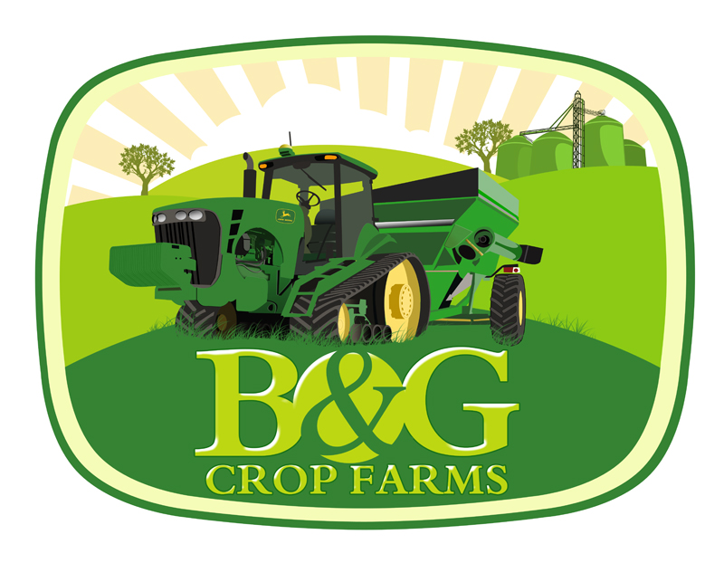 Logo Design by Private User - Entry No. 68 in the Logo Design Contest Artistic Logo Design for B & G Crop Farms.