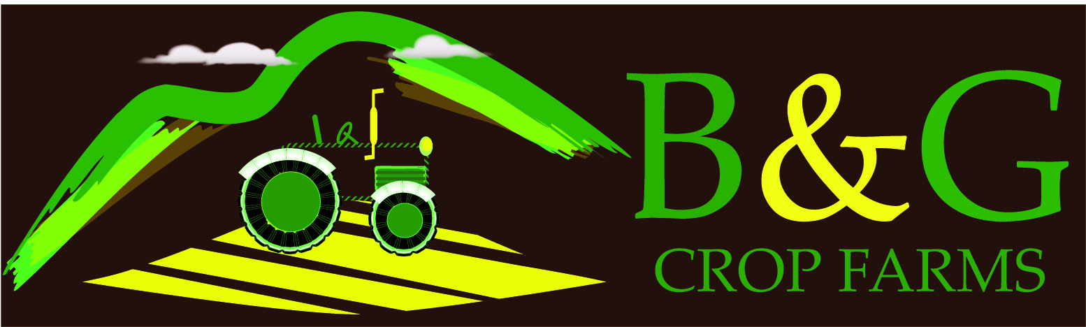 Logo Design by Vivek Singh - Entry No. 71 in the Logo Design Contest Artistic Logo Design for B & G Crop Farms.