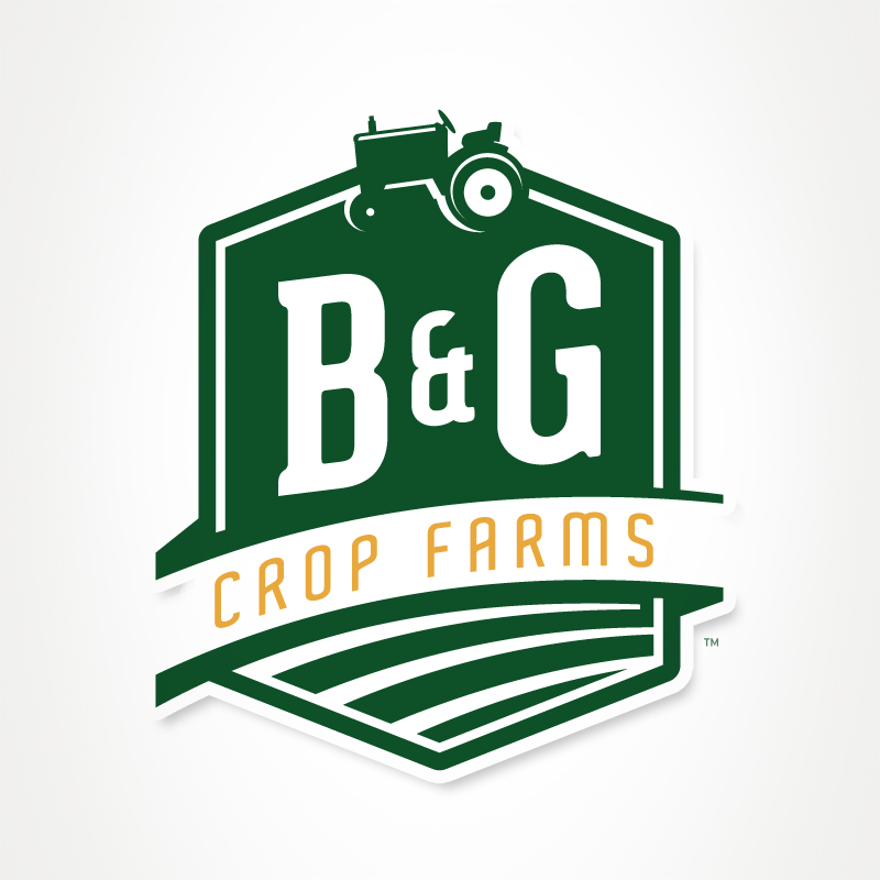 Logo Design by Grant Currie - Entry No. 75 in the Logo Design Contest Artistic Logo Design for B & G Crop Farms.
