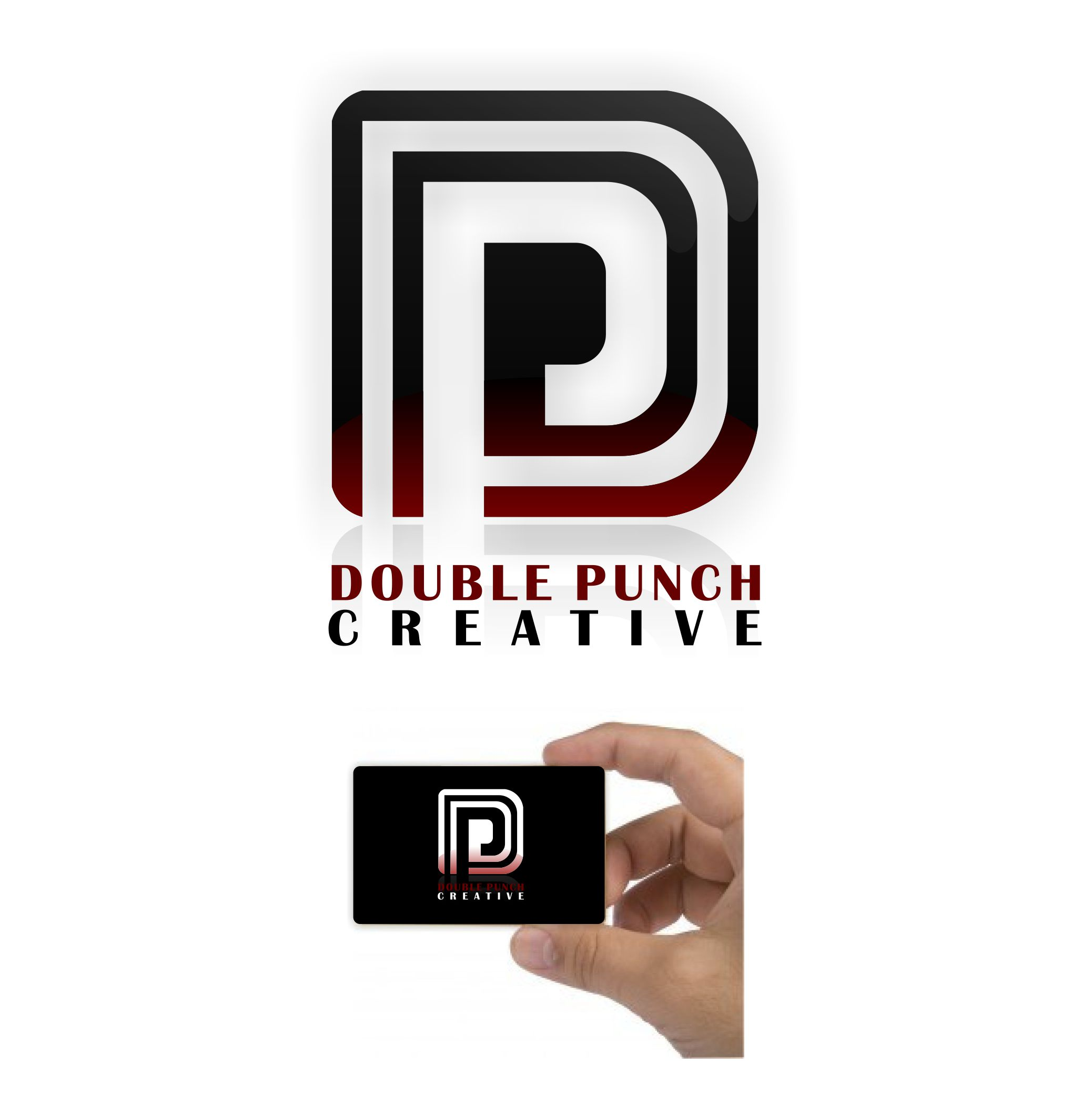 Logo Design by joca - Entry No. 41 in the Logo Design Contest Unique Logo Design Wanted for Double Punch Creative.