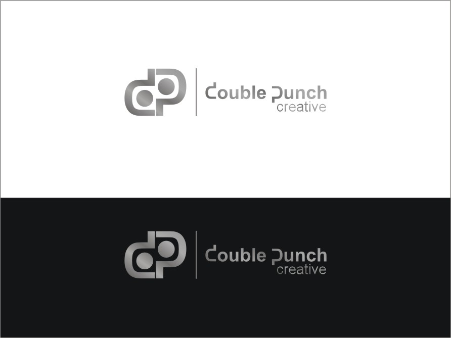 Logo Design by RED HORSE design studio - Entry No. 43 in the Logo Design Contest Unique Logo Design Wanted for Double Punch Creative.
