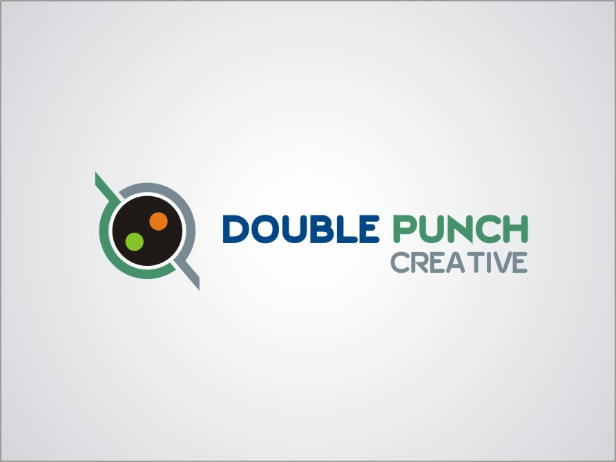 Logo Design by RED HORSE design studio - Entry No. 56 in the Logo Design Contest Unique Logo Design Wanted for Double Punch Creative.