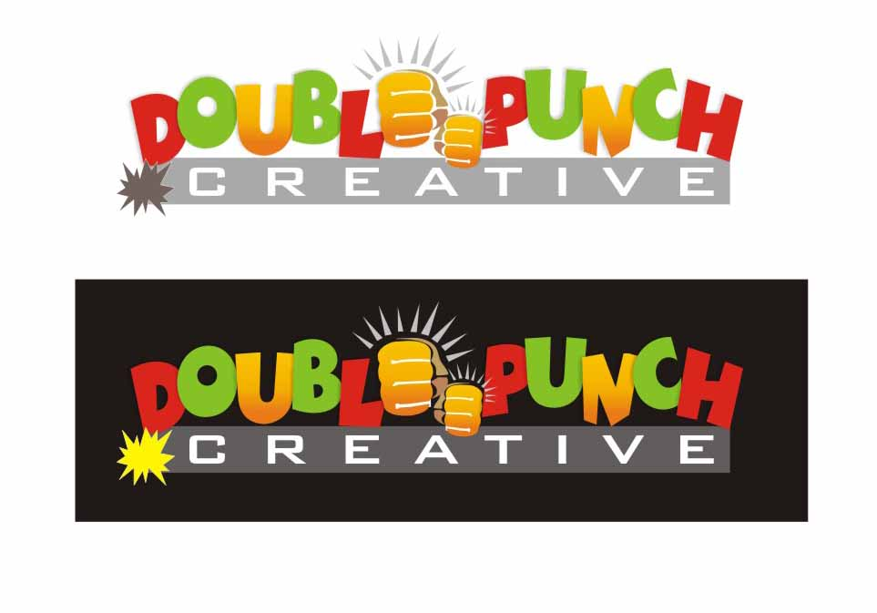 Logo Design by Private User - Entry No. 59 in the Logo Design Contest Unique Logo Design Wanted for Double Punch Creative.