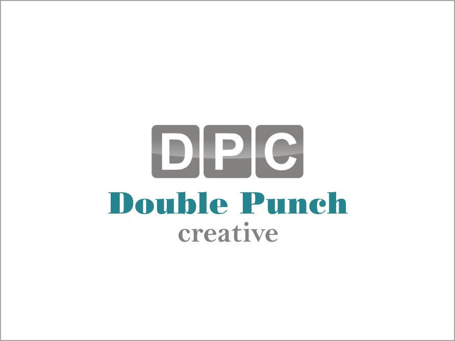 Logo Design by RED HORSE design studio - Entry No. 60 in the Logo Design Contest Unique Logo Design Wanted for Double Punch Creative.