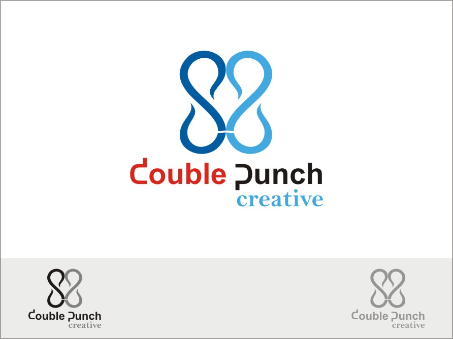 Logo Design by RED HORSE design studio - Entry No. 61 in the Logo Design Contest Unique Logo Design Wanted for Double Punch Creative.
