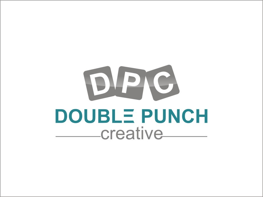Logo Design by RED HORSE design studio - Entry No. 63 in the Logo Design Contest Unique Logo Design Wanted for Double Punch Creative.