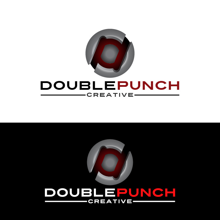 Logo Design by lagalag - Entry No. 67 in the Logo Design Contest Unique Logo Design Wanted for Double Punch Creative.