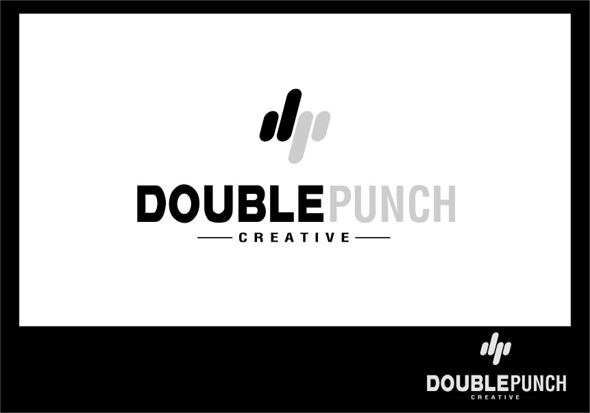 Logo Design by RasYa Muhammad Athaya - Entry No. 104 in the Logo Design Contest Unique Logo Design Wanted for Double Punch Creative.