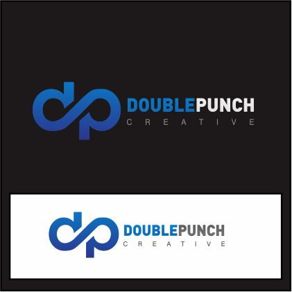 Logo Design by ronny - Entry No. 106 in the Logo Design Contest Unique Logo Design Wanted for Double Punch Creative.