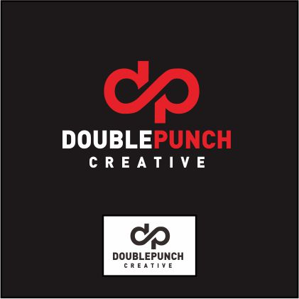 Logo Design by ronny - Entry No. 107 in the Logo Design Contest Unique Logo Design Wanted for Double Punch Creative.